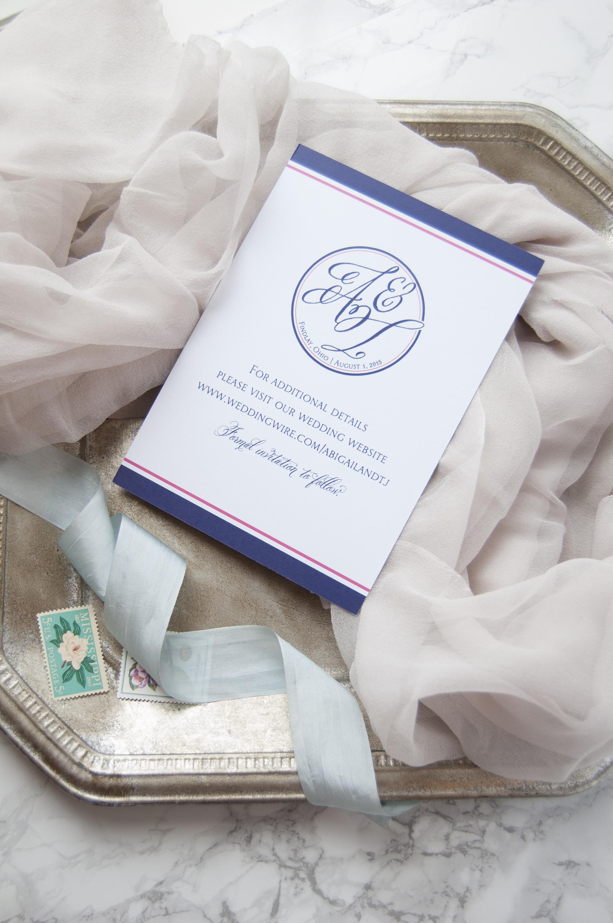 Wedding Custom Monogram | Meg Morrow Fine Paper