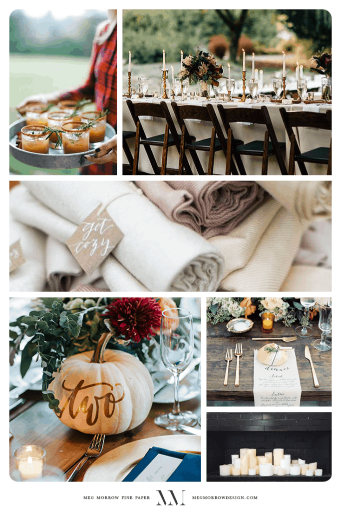 How to add touches of Fall to your wedding