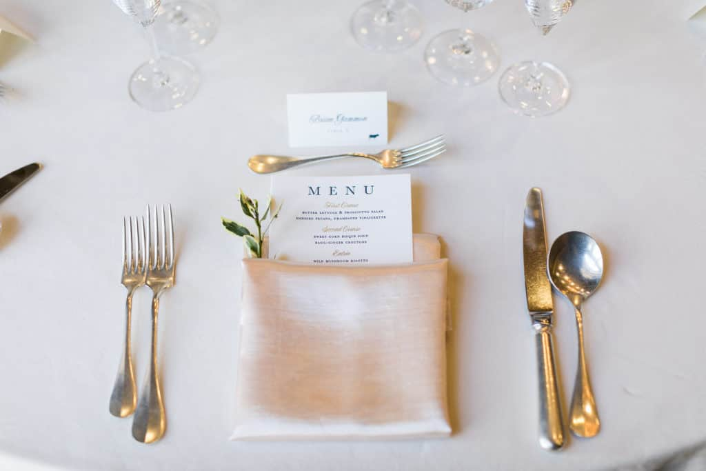 A Picture Perfect Navy, Gold and Blush California Wine Country Wedding