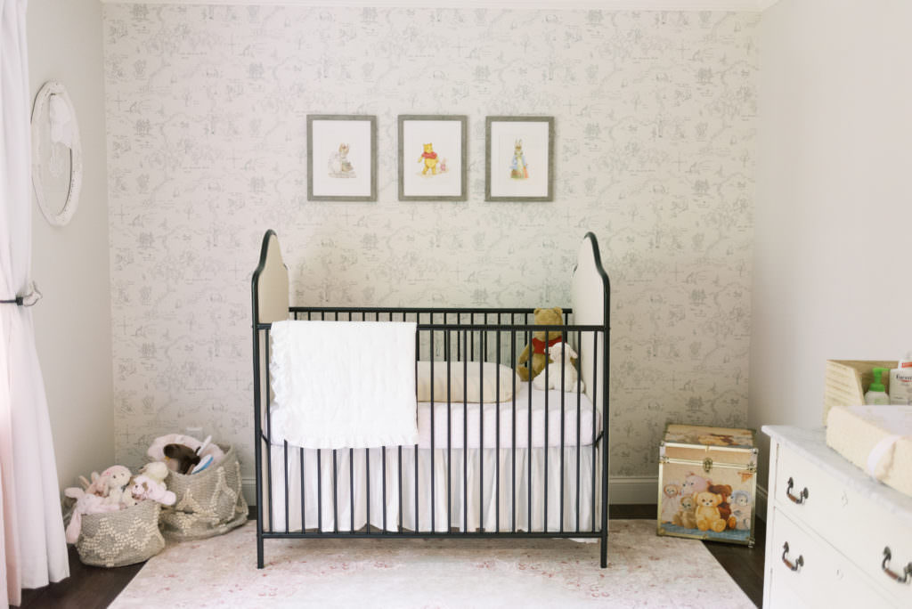 Neutral Monogram Nursery