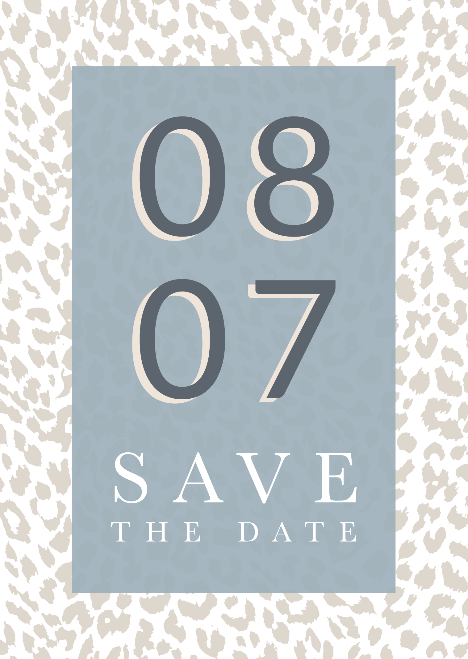 Save the Date 08.07.20