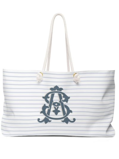 Monogram Beach Tote for Bridesmaids