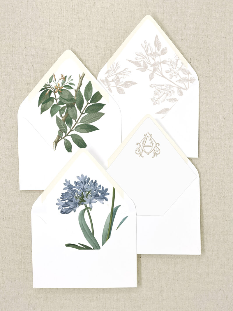 Wedding Invitation Envelope Liners