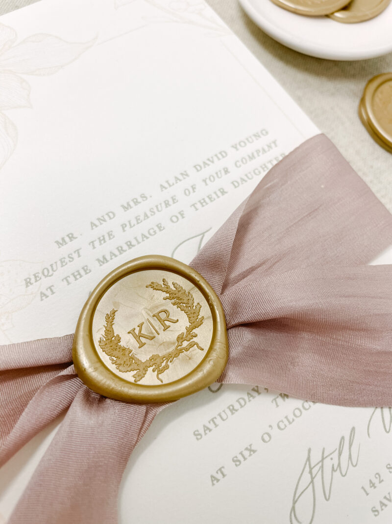 Wedding Invitation Wax Seal