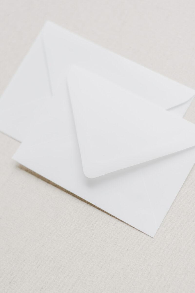 Wedding Invitation Double Envelopes